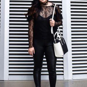 Zara Tops - Zara Lace Ruffle Top