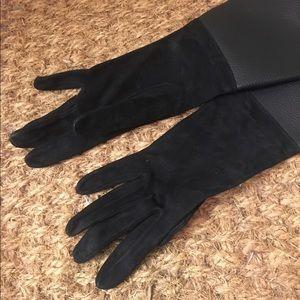 Neil Barrett Accessories - Neil Barrett black leather gloves brand new