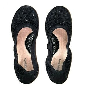 Hush Puppies Jeweled Leather Flats