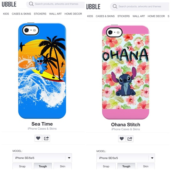 86bf922504e Lilo and Stitch Disney iPhone 5/5s/SE tough case. Listing Price: $32.00.  Your Offer