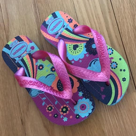 a5d778296a4f4d Havaianas Other - Girls Havaianas Flip Flops