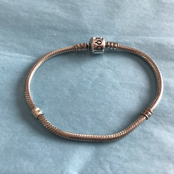 60eaae3ed Pandora Jewelry | 67 Bracelet Chain Sterling Silver | Poshmark
