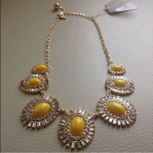 Kate Spade Yellow Statement Necklace