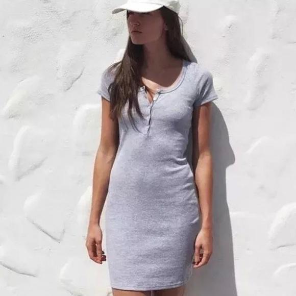 9ed206cce4ca04 American Apparel Dresses   Skirts - AA Henley Dress