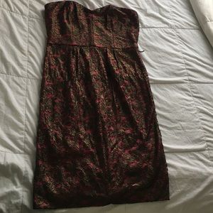 Adrianna Papell strapless dress size 10