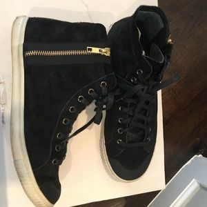 Tretorn Shoes - Tretorn high top sneakers size 7.5 black