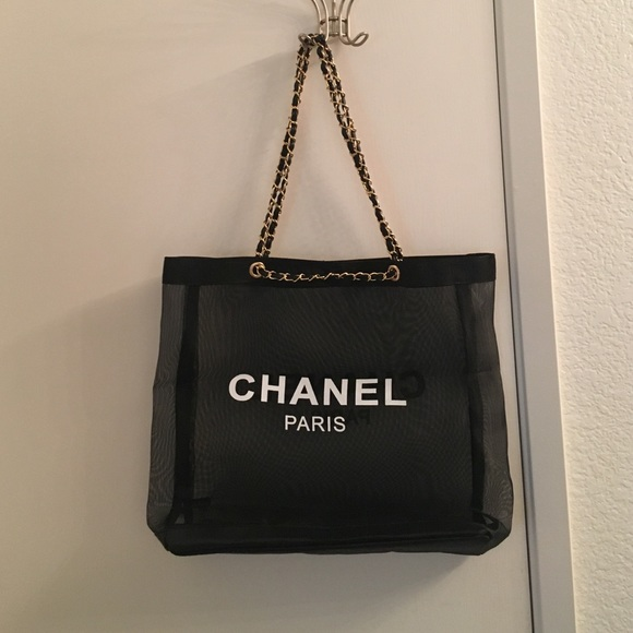 45c7c806c804 CHANEL Bags | Last One Authentic Vip Gift Mesh Tote | Poshmark