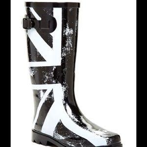 British Flag Rain Boots