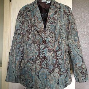 Jackets & Blazers - Paisley Blazer