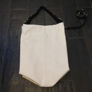 Zara Handbags - 📌ZARA Large white tote. Removable long strap📌