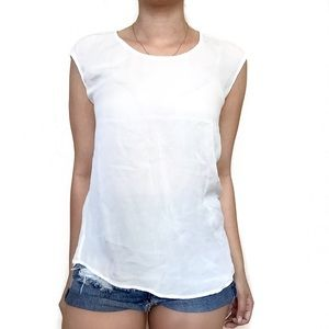 Joie Tops - • Joie • White Tank