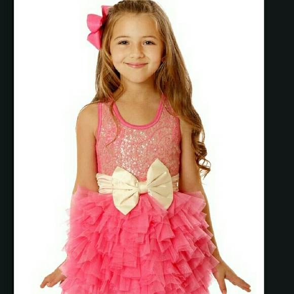 Ooh La La Couture Designer girls party dress size 2 and 4