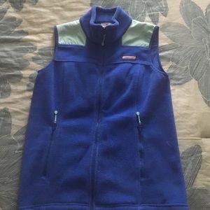 Vineyard Vines Fleece Shep vest