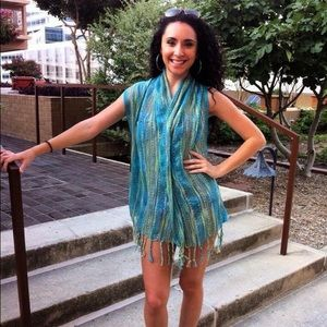 Other - Bohemian Scarf Vest