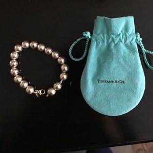 Tiffany Bead Bracelet in Sterling Silver
