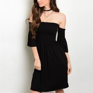 Sexy Off the shoulder dress