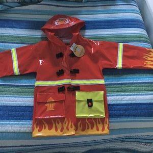 Kidorable Other - Boys rain coat firefighter jacket