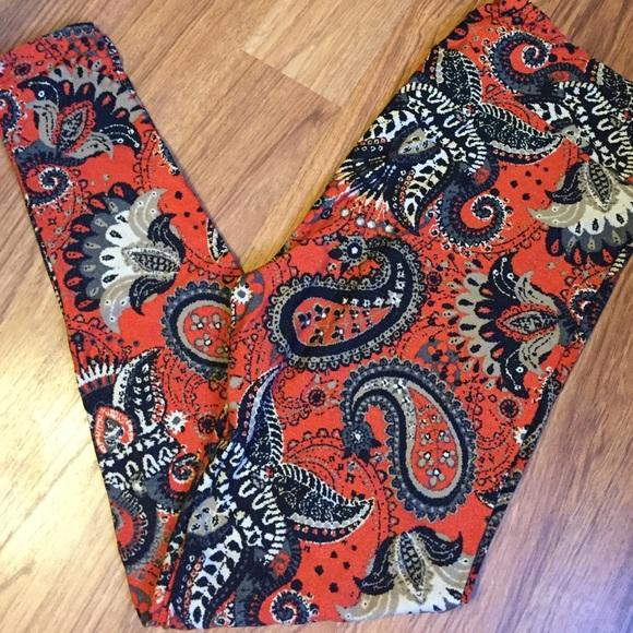 Red Leggings On Sale