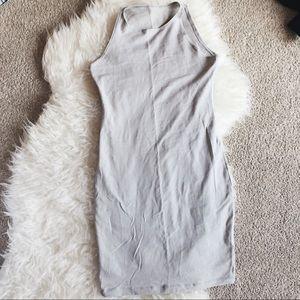 Light Gray AA Bodycon Dress