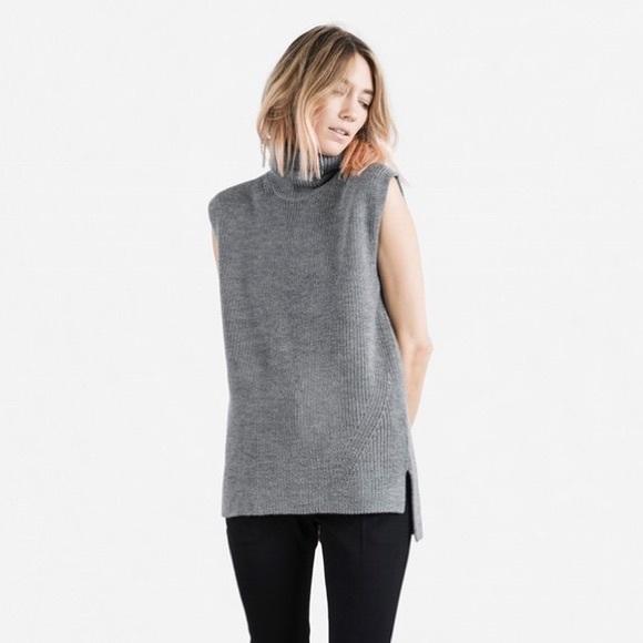 0c02f1b4f95114 Everlane Sweaters - Everlane turtleneck sleeveless sweater