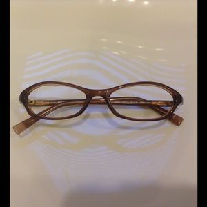DKNY Brown Women's Glasses Frames