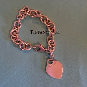 AUTHENTIC Tiffany & Co. Classic Charm Bracelet