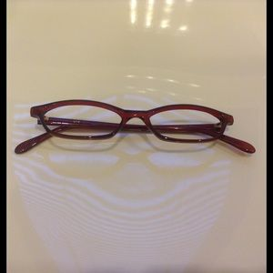 Garnet Red Women's Glasses Frames