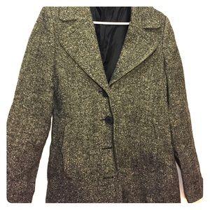 H&M Grey Wool Winter Coat