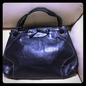 Kate Spade leather bow satchel