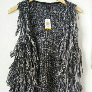 Material Girl fringe vest