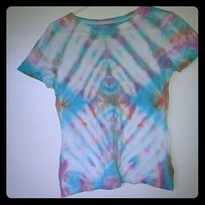 Bass Tops - Trippy Pastel Tie Dye