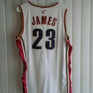watch e2014 d2fc7 LeBron James Home Jersey