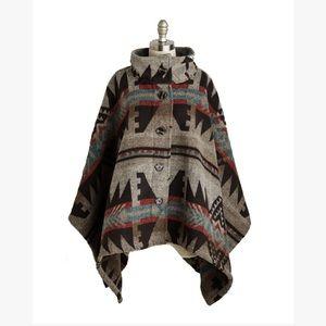 Madewell Jackets & Blazers - Tribal Pattern Poncho