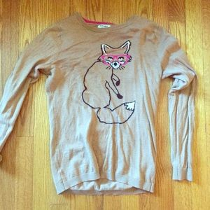 Old Navy Sweaters - Fox sweater beige