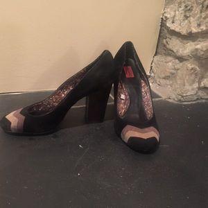 Missoni Shoes - MISSONI for target suede pumps. SIZE 9