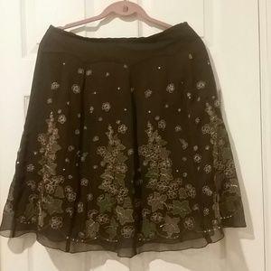 Anne Carson Dresses & Skirts - 100% SILK  SKIRT  By  ANNE CARSON