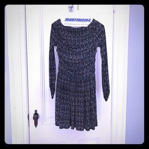 Leota Dresses & Skirts - Leota jersey knit dress, black and white