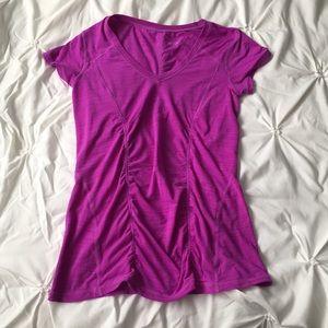Zella Tops - Zella Sport Workout  Short Sleeve Tee Purple Top