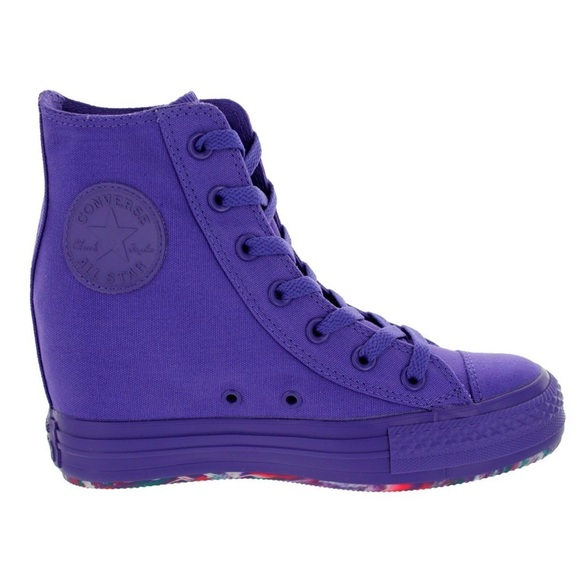 f880590336f38f Converse Shoes - Purple Converse Wedges