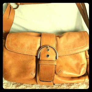 *100% Authentic Vintage Leather Coach Bag*