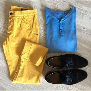 Jack and Jones Other - •Jack and Jones• Men's Yellow Pants