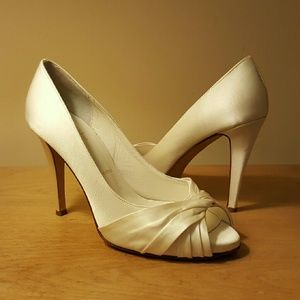Butter Shoes Shoes - Bridal by Butter Charisma Open Toe Heel