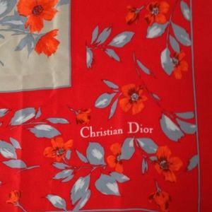 Christian Dior Accessories - Christian Dior silk scarf
