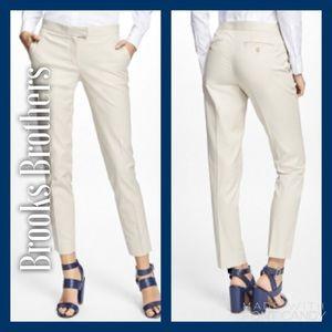 Brooks Brothers Pants - Classy DARK Khaki Ankle Brooks Brothers Pants! 💂