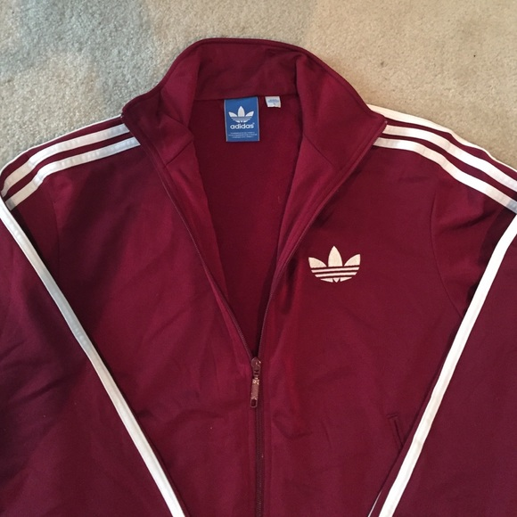 183869bd1527 Adidas Other - Adidas Superstar track jacket. Maroon color.