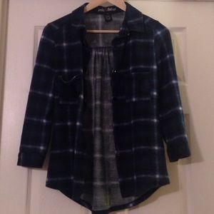 Polly & Esther Tops - Polly & Esther Flannel Shirt.