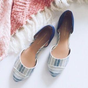 Tommy Hilfiger Shoes - tommy hilfiger • striped d'orsay flats