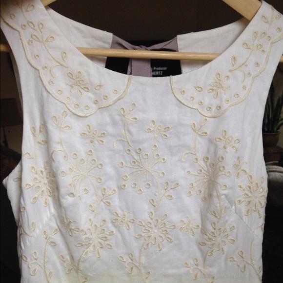 Meadow rue laced lemon drop dress