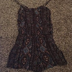 Kaii Dresses & Skirts - aztec print romper