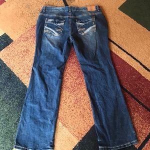 Ariya Denim - Amethyst jeans sz 16 22 NWT slim boot original